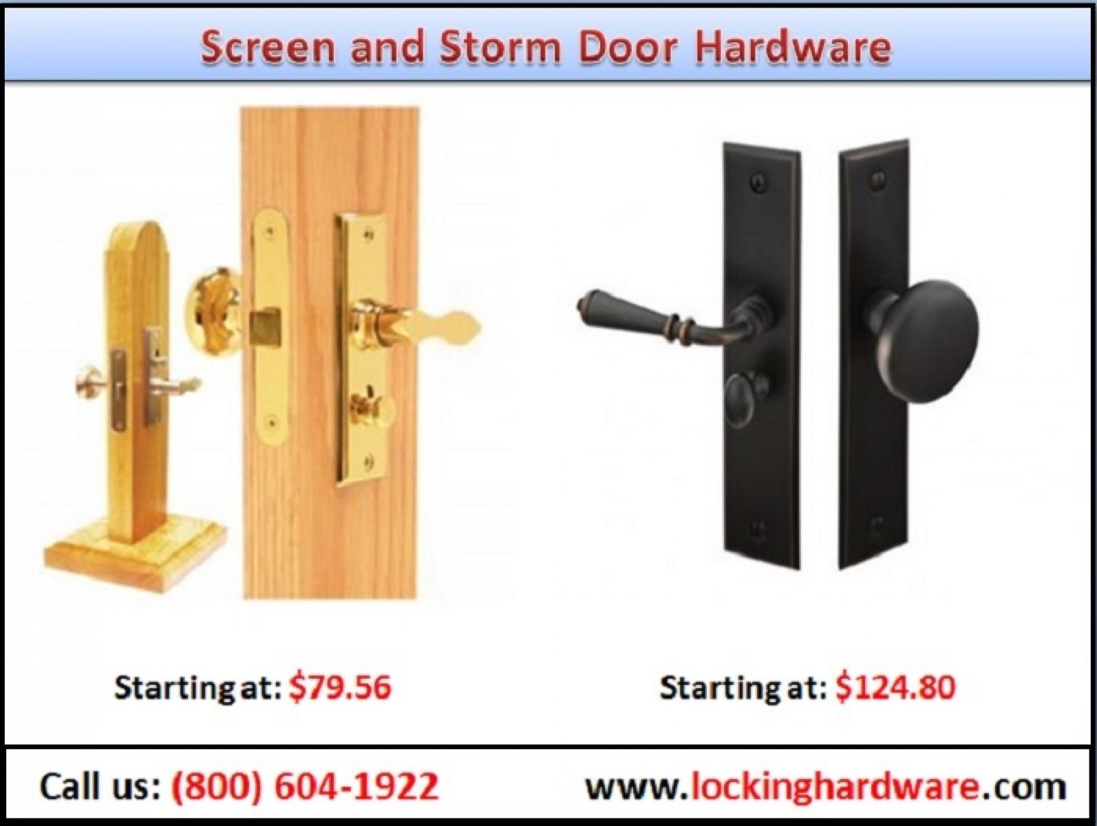 Screen And Storm Door Hardware Door Lockset Call Us 800 604