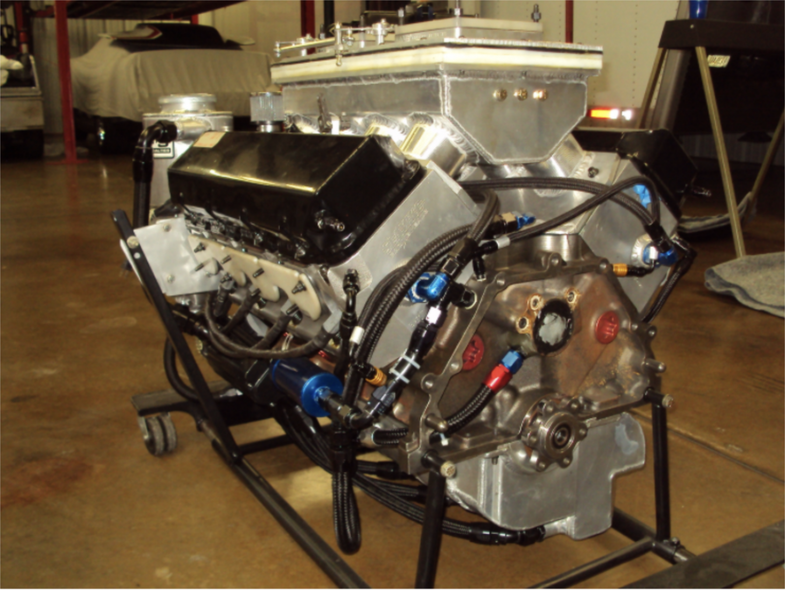 Elite / Jimmy Oliver 500Ci Pro Stock Engine for sale on RYNO
