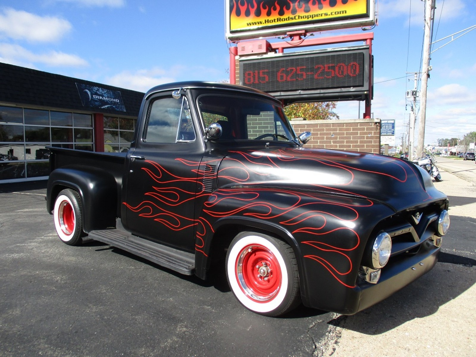 Race Pro Weekly 1955 Ford F100 Supercharged 302 Street Rod For Wheels