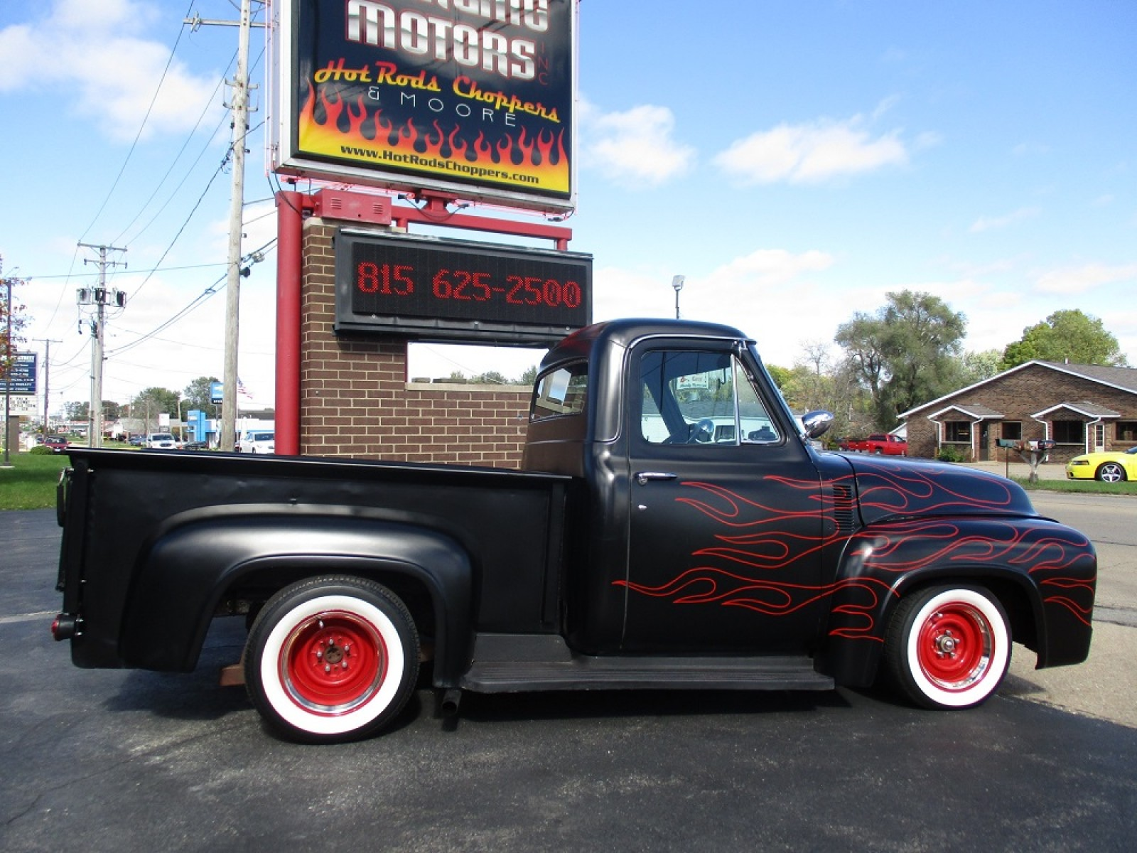 1955 Ford F100 Supercharged 302 Street Rod For Sale On Ryno Classifieds