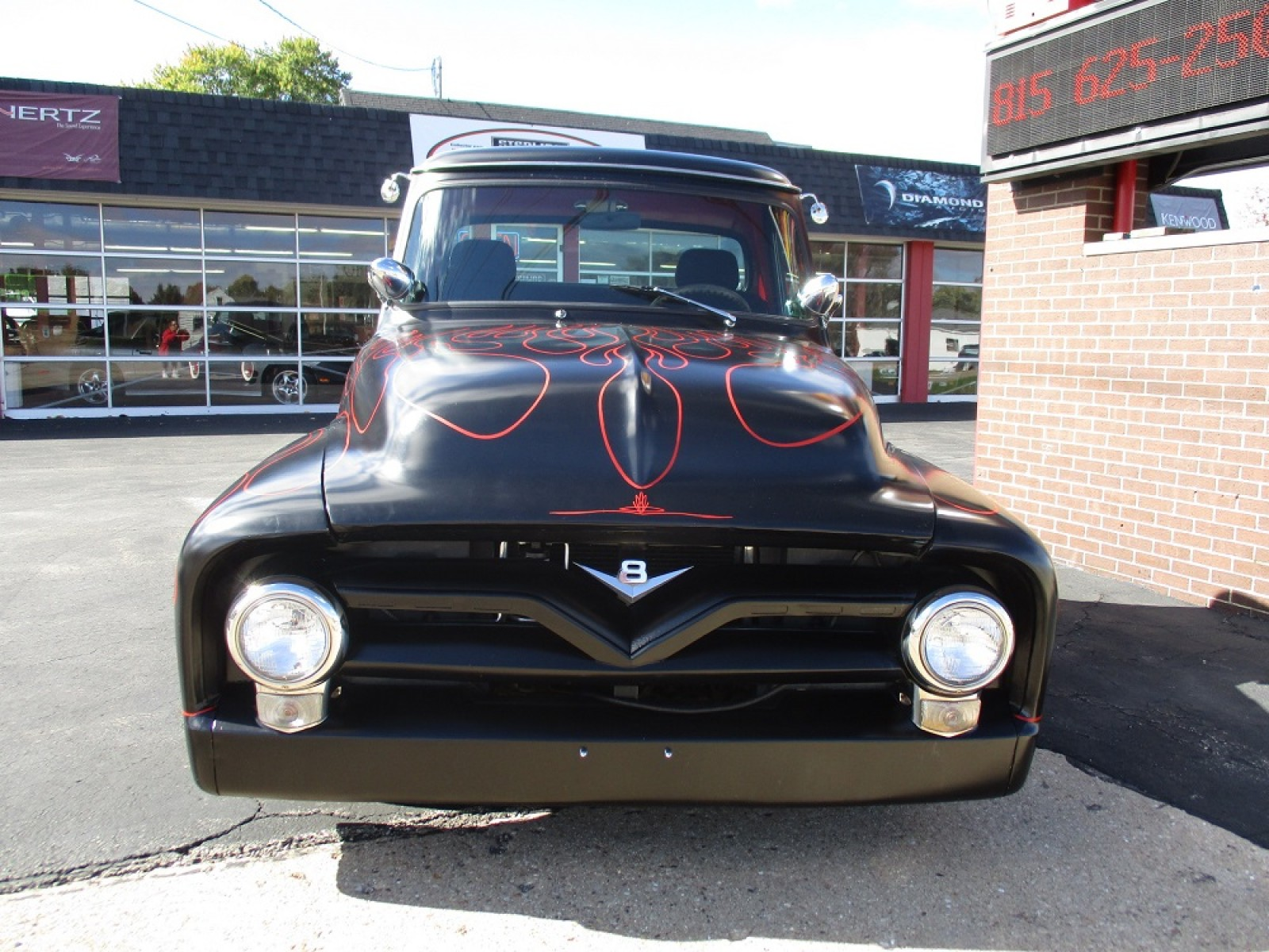 1955 Ford F100 Supercharged 302 Street Rod For Sale On Ryno Classifieds Headliner